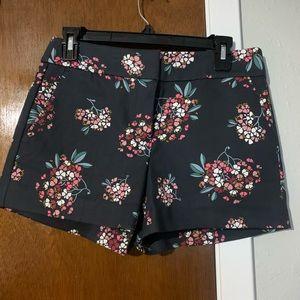 NWOT LOFT Floral Print shorts